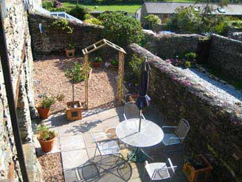 Rocket Cottage garden: totally separate and private