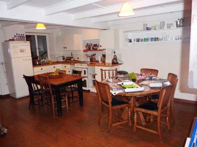 Foss Cottage kitchen, self-catering holiday rental