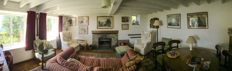 Foss Cottage sitting room
