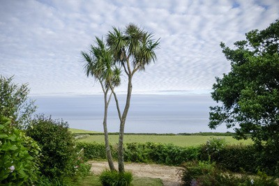 sea view from Foss Cottage
